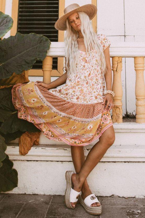 Spell Dress Hire Adelaide Portobello Midi Dress